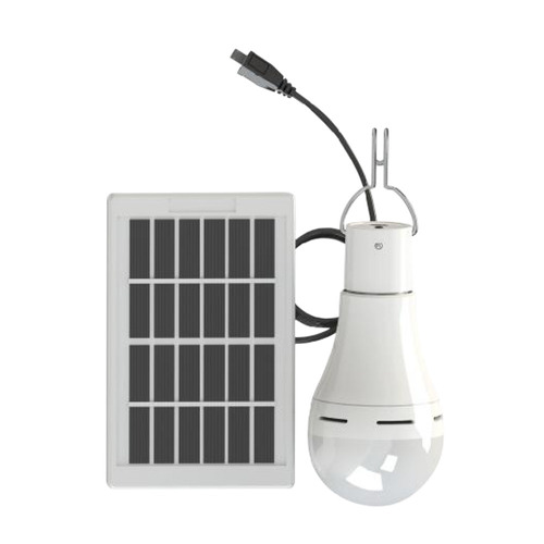 Dc5-6v 9w 25 Led Energia Solar Power Bulb 3 Nveis Ajustvel