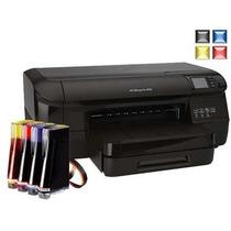 Impressora Officejet Pro Hp 8100 Com Bulk Ink 400ml