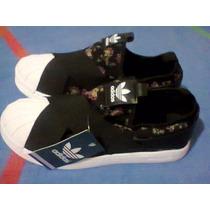 ea5a557acdc Tenis adidas Superstar Slip On Preto E Branco Nº38 Original à venda ...