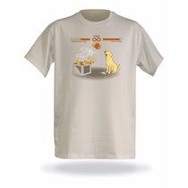 Camiseta Schrodingers Cat Vs. Pavlov