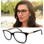 Armação Oculos Grau Original Feminino Dg3268 Premium