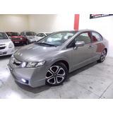 Honda Civic Lxs 1.8 Gasolina Automatico + Couro
