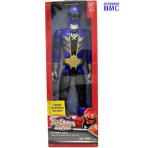 Ranger Azul De 30cm Power Rangers Super Megaforce Bandai