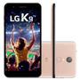 Smartphone Lg K9 Tv  Dourado  Lmx210  Tela De 5   16gb  8mp