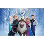 Painel De Festa Frozen Aniversário Infantil (1,30 X 2,40m)