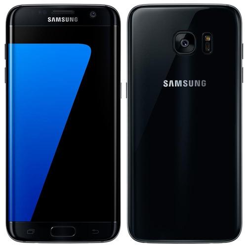 Smartphone Samsung Galaxy S7 Edge Preto Tela 5.5 12mp 32gb