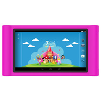 Tablet How Ht704 Princesinhas - Rosa