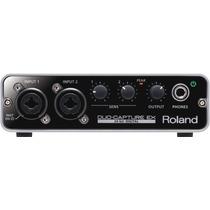 Interface De Audio Roland Ua-22 Duo -capture Ex