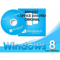 Windows 8 Pro/8.1 Pro- Key Original Office 2013 Pro + Brinde