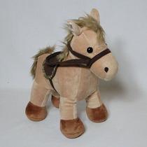 Cavalo De Pelúcia Marrom