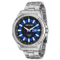 Relógio Seculus Masculino Long Life 28589g0svna1.