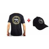 Camiseta Glock Estampada + Boné Glock Bordado