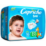 Fralda Capricho Baby Econômico Eg 16 Unidades