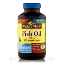 Fish Oil 1000 Mg Omega-3 300 Mg - 250 Cápsulas Por Natureza