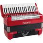 Acordeon Roland Fr8x Rd Vermelho + Bag Na Cheiro De Música