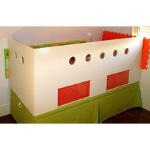 Berço/cercado Para Cama/colchão Normal De Solteiro