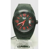 Relógio Everlast Analógico Pulseira De Borracha E180