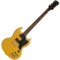 Guitarra Epiphone Sg Special P90 50th Yellow Tv 1961 Mogno