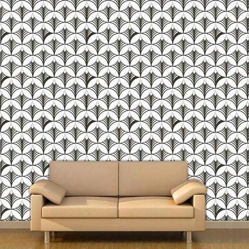 Papel de parede abstrato preto decorativo sala frete for Precio papel pared decorativo