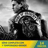 Serie Sons Of Anarchy 1ª-7ª Temporada + Brinde