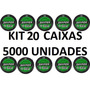 Kit 20 Caixas Chumbinho Snyper Diabolo 4.5mm 5000 Unidades