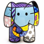 Romero Britto - Escultura - Elephant Fig. India L.e