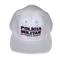 Boné Branco - PMMG