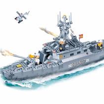 Brinquedo De Montar - Navio De Guerra - 458 Peças