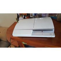 Playstation Fat 40g Branco Está Com Bips Não Dá Imagem.