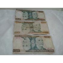 Cédulas Antigas 1.000 Cruzeiros - Notas Antigas - Dinheiro