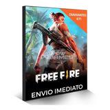 Free Fire 610 Diamantes + 61 Bônus (671) Recarga P/ Conta