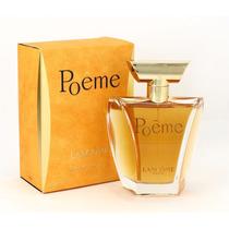 Perfume Poême Lancôme Edp 100ml   Lacrado 100% Original