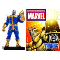 Miniatura Marvel Eaglemoss Thanos Edição Especial! Novo!