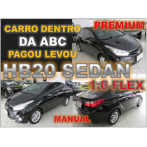Hb20 Sedan Premium 1.6 Flex Manual 2014 Financiamento Facil