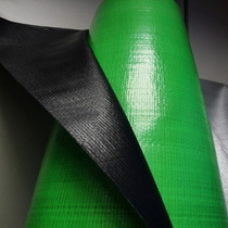 Bobina Rolo Lona Plástica Preta Verde 50x2,20 Mts 300 Micras
