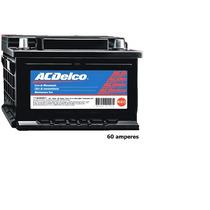 Bateria Acdelco 60 Amperes Nova Com Nota Fiscal 18 Meses De