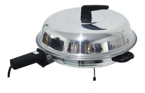 Churrasqueira Elétrica Cotherm Pizza Grill 220v Preta/prateada