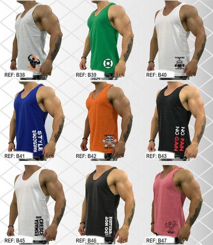 Regata Masculina Cavada Camiseta Regatas Academia Original R 22.8 ... b94efd9f272