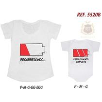 4852e3027d106d Kit Camiseta T-shirt + Body Tal Mãe Tal Filha(o) Principe à venda em ...