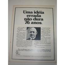 ( L - 290/ G ) Propaganda Antiga Indústrias Gerdau