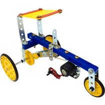 Robótica Trator De Energia Elétrica Brinquedo Montar Modelix