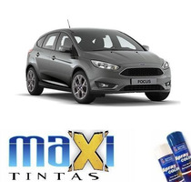 Tinta Spray Automotiva Ford Cinza Ubatuba + Verniz 300ml