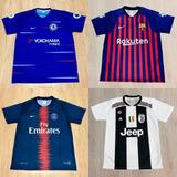 Kit 10 Camisas Futebol 100 Modelos Diferentes 2018 Atacado