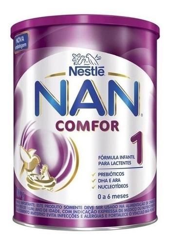 Fórmula Infantil Em Pó Nestlé Nan Comfor 1 Em Lata De 800g
