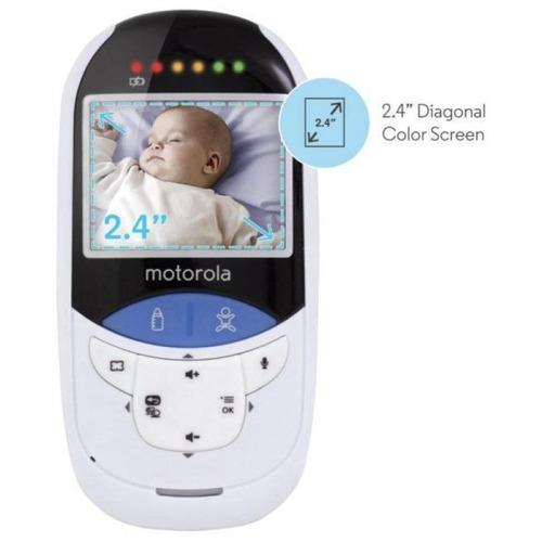 Babá Eletrônica Motorola Mbp27t Tela 2.4 Visão Noturna