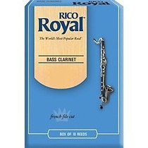 Palheta Rico Royal Nº 3 Clarone Baixo Bb