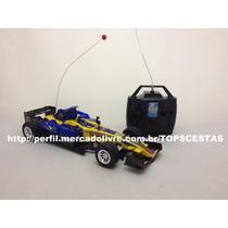 Carrinho Carro Controle Remoto Fórmula 1 Estrela Supremus