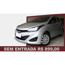 Hyundai Hb20 1.0 Comfort Plus Flex 2013/sem Entrada R$899,00
