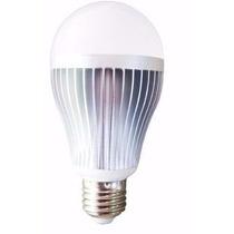 Lâmpadas Aluminio Led Bulbo 12w =100w 110v 220v Branca
