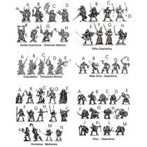 Miniaturas Avulsas Rpg / D&d Abyss Miniaturas R$14,45 Cada